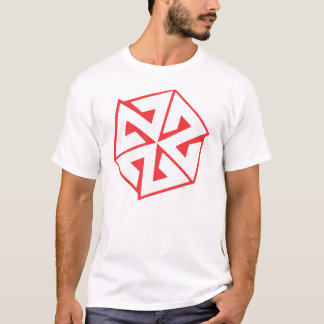 T-shirt Blanc et rouge d'AVALON7 Inspiracon