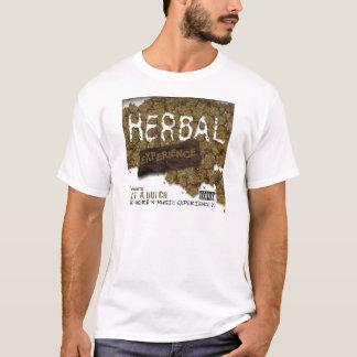 T-shirt Blanc ex de fines herbes T