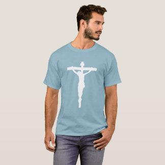 T-shirt blanc Jésus catholique chrétien de