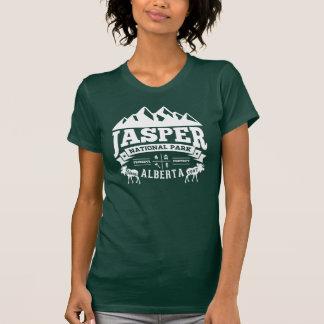 T-shirt Blanc vintage de jaspe