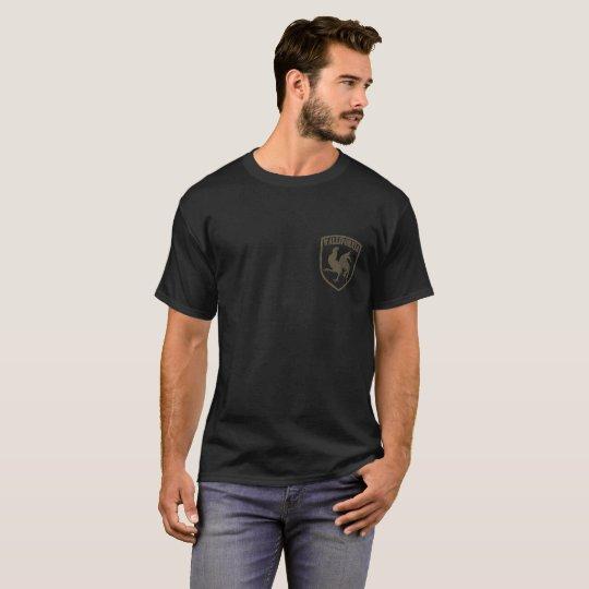 T-shirt Blason Wallifornia pocket