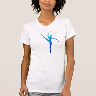 T-shirt Bleu de ballet