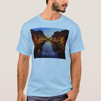 T-shirt bleu de Milan