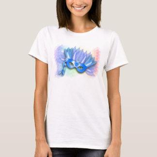T-shirt Bleu électrique de ~ de masque