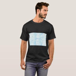 T-shirt Bleues de Bacteries