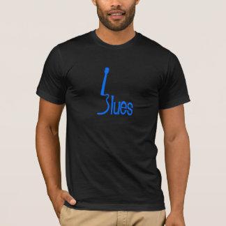 T-shirt Bleus de guitare