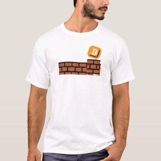 T-shirt Bloc superbe de Bitcoin