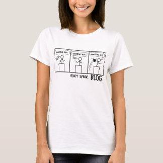 T-shirt Blog comique