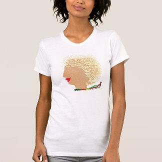 T-shirt Blonde libertine de Starz dans le vent