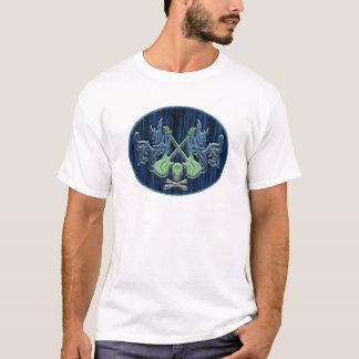 T-shirt Blue-Green jupe