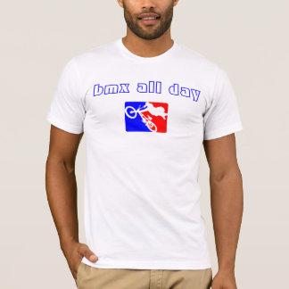 T-shirt bmx-logo, bmx toute la journée