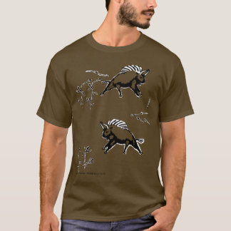 T-shirt Bobine de lapsus en public de Lascaux