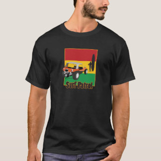 T-shirt Boguet jamaïcain de Rasta Surfpatrol