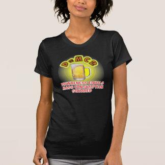 T-shirt Boire de bière de consommation de masse