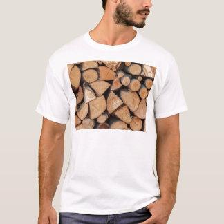 T-shirt bois de chauffage