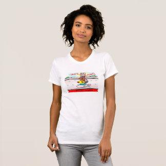 T-shirt Boisez les patins de castor le canal
