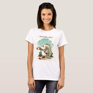 T-shirt Boisson comme un poisson