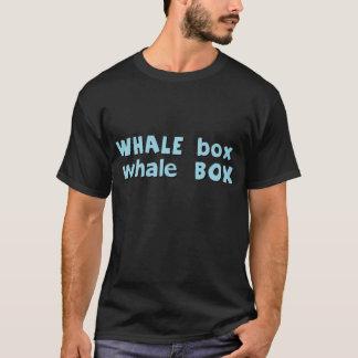 T-shirt boîte de baleine