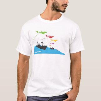 T-shirt Bombardement coloré