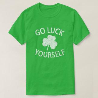 T-shirt Bon Jour de la Saint Patrick drôle de la chance