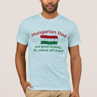 T-shirt Bon papa de Hongrois de Lkg