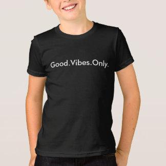 T-shirt Bon. Vibraphone. Seulement. Noir et blanc