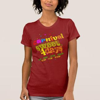 T-shirt Bonbon à carnaval 4 jours (d'editable)