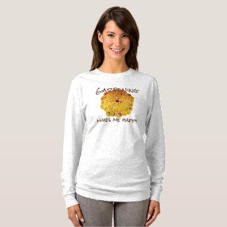 T-shirt Bonheur d'or de jardin de chrysanthème