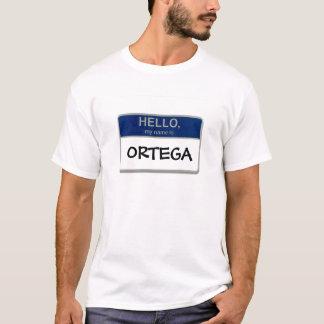 T-shirt Bonjour, mon nom est Ortega
