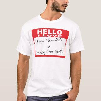 T-shirt Bonjour : Tigre de Bangin