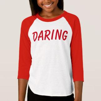 T-shirt BONNE audace de chemise de qualités de fille