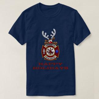 T-shirt Bonnes fêtes délivrance du feu de Vancouver de