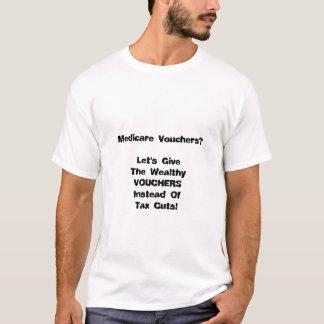 T-shirt Bons, pas réductions des impôts