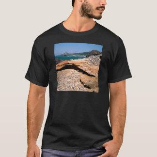 T-shirt Bord de la route de loutre d'érosion de grès de