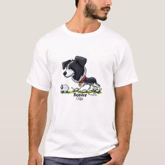 T-shirt Border collie - couleur