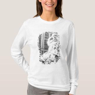 T-shirt Boston, mA Etats-Unis, coureur dans le marathon de
