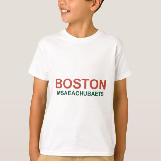 T-shirt Boston, Msaeachubaets