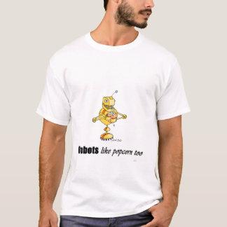 T-shirt bot de maïs éclaté