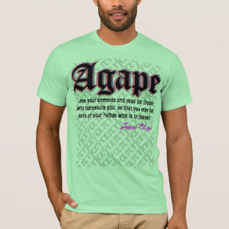 T-shirt bouche bée d'amour