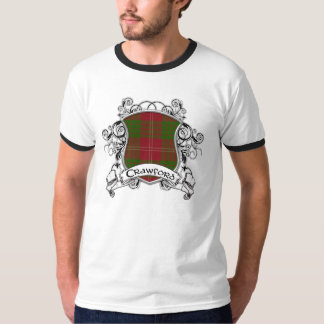 T-shirt Bouclier de tartan de Crawford