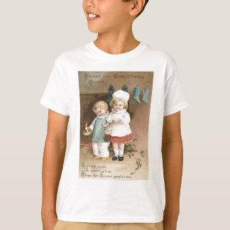 T-shirt Bougie de houx de bas d'enfants