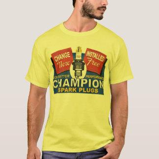 T-shirt bougies d'allumage de champion