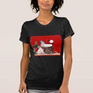 T-shirt Bouledogue français de Noël