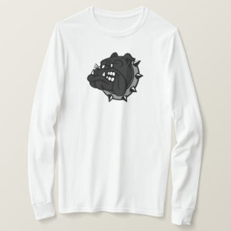 T-shirt Bouledogue noir