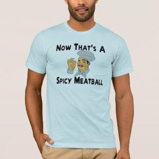 T-shirt Boulette de viande épicée