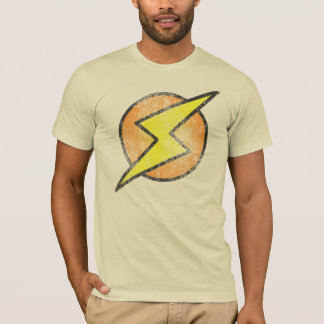 T-shirt Boulon de foudre, cru
