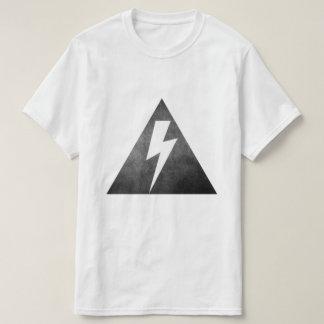 T-shirt Boulon de foudre géométrique