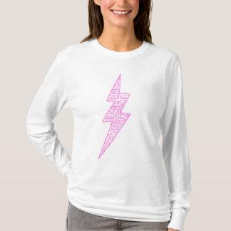 T-shirt Boulon Hoody (BubbleGum) de labyrinthe