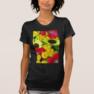 T-shirt Bouquet floral d'automne coloré