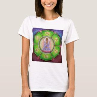 """T-shirt Bourdonnement de Kuan Yin """"OM Mani Padme """""""